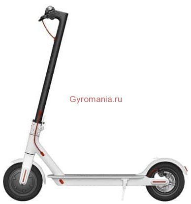 Электросамокат Xiaomi Mijia Electric Scooter M365 (Европейская версия) белый